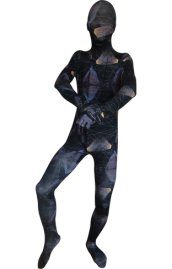 Abstract Sky Zentai Suit | Blue and Purple