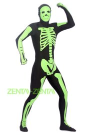 Glow Skeleton Zentai Suit | Glow in the Dark