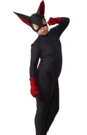 Little Black Cat Lady | Spandex Lycra Cat Woman Costume
