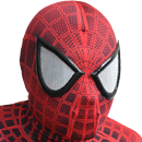 Rubber Spider-Man Eyes(attached) ( +$18.00 )