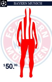 Bayern Munich Team Uniform Zentai Suit