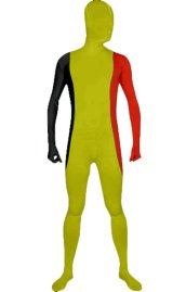 Belgian Full Body Suit | Belgian Flag Suit