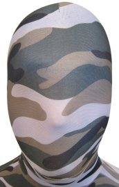 Camo Zentai Hood | Black, Green and Coffee