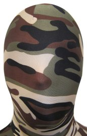 Camo Zentai Hood | Black, Grey, Brown