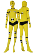 Crash-Test Dummy Zentai Suit