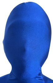 Dark Royal Blue Zentai Mask | Spandex Lycra Hood