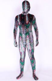 Electric Thick Velvet Unisex Full Body Zentai Suit