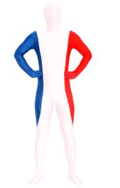 France Full Body Suit | Spandex Lycra Unisex Full-body Zentai Suit