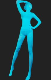 Ice Blue Full Body Suit | Full-body Unisex Spandex Lycra Original Zentai Suit