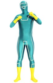 Kick Ass Zentai Suit | Glow in the Dark Spandex Lycra Zentai