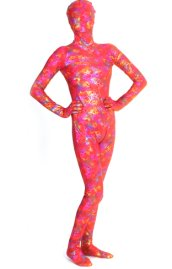 Lazer Shadow Flora Shiny Metallic Zentai Suit