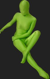 Mint Green Full Body Suit | Full-body Unisex Lycra Spandex Zentai Suit