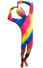 Neon Multi-Color Zentai Suit | Spandex Lycra Full Body Suit