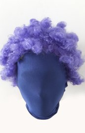 Purple Zentai Wig