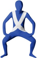 Scotland Flag Zentai Suit / Full Body Suit