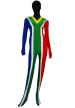 South Africa Flag Zentai Suit