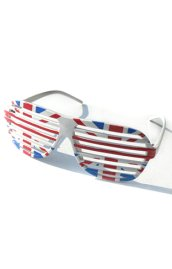 United Kingdom Flag Shutter Shades