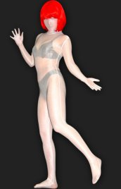 White Solid Color Full-body Unisex Lycra Silk Transparent Zentai Suit