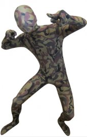 Camouflage Zentai Suit